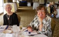 Geraldine Raja and Ulve Nurmet. Estonian Society of Central Florida (KFES), EV99 celebration, 25 Feb 2017, Clearwater, FL. Foto: Lisa Mets