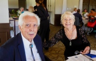 Dick with Malle Sibul. Estonian Society of Central Florida (KFES), EV99 celebration, 25 Feb 2017, Clearwater, FL. Foto: Lisa Mets