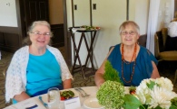 Judy with Ann Ashley. Estonian Society of Central Florida (KFES), EV99 celebration, 25 Feb 2017, Clearwater, FL. Foto: Lisa Mets