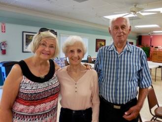 Inne Joonsar and Geri and Rein Raja. KFES, 22 apr. 2017, Seminole, FL. Foto: Lisa Mets
