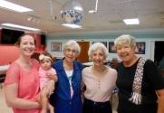 Reet and Brook Cabrera, Leena Aare, Geri Raja and Maare Kuuskvere. KFES, 22 apr. 2017, Seminole, FL. Foto: Lisa Mets