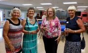 Inne Joonsar, Livia Rebane, and Maare Orumaa Craig. KFES, 22 apr. 2017, Seminole, FL. Foto: Lisa Mets